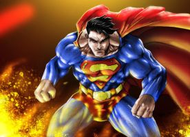 Man of Steel by SiriusSteve