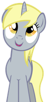 Unicorn Derpy by RedInk853