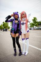 Hyperdimension Neptunia Cosplay by babyoriginell3
