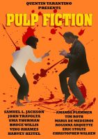 Pulp Fiction Poster 2 by EnzoLuciano93