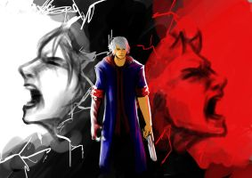 Angels Scream, Devils Cry. by TheBoyofCheese