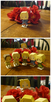 Paper Craft Adventures V-Day by porcelian-doll