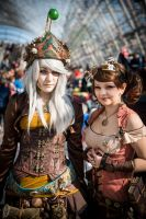 Steampunk (Lady of Time and Perdita Illicia) by Hubby2k