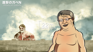Attack On GabeN by Yahmahah