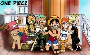 Chibi One Piece by Ssela