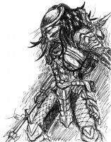 Predator Quickie by MrJellyfish