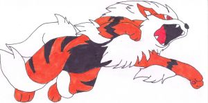 arcanine by VipertheWyvern