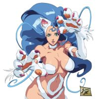 Felicia darkstalkers by Tramaine365