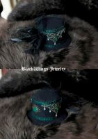Mini Top Hat by BlackWings-jewelry