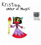 Kristina, Uniter of Magic by Dragonus-Prime