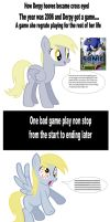 How Derpy Hooves became cross eyed by batman0889