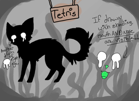 Tetris Reference by AnamayCat