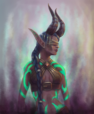 Illidari Ebarei by Whisperess