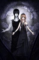Character design: Hades and Persephone by Fluorescence911