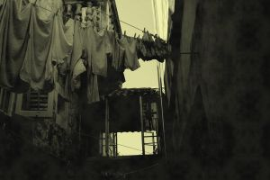 Large laundry by Coffee-L