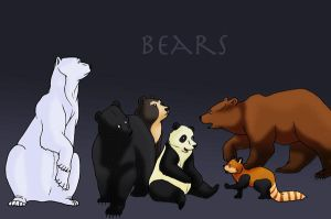 Bears by LyricaBelachium