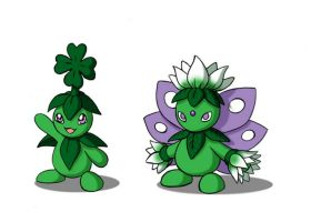 Lucky and Evolution by 070trigger