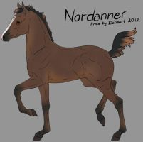 Nordannerfoal 3369 -designholder- by saphiraly