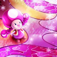 TOADETTE CHRISTMAS. by KagomesArrow77