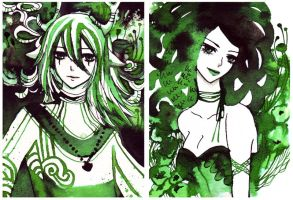 com: emerald greens by koyamori