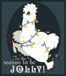 Holly Jolly Silkie by spiffychicken