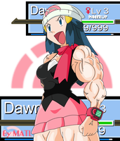 "Dawn ""Power Up Lv 3"" by MATL"