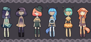 -Pixel Cuties Collab Auction- Closed by Kingdomkey