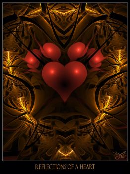 Reflections Of A Heart by Brigitte-Fredensborg