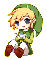 ID - Toon Link by giannysuki