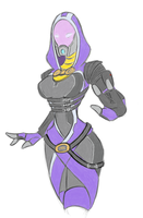 Tali WIP by fakefrogs