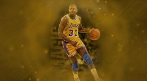 Magic Johnson by RGray525