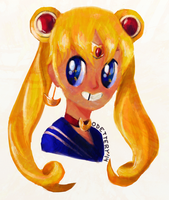 Sailor Moon by Odettery