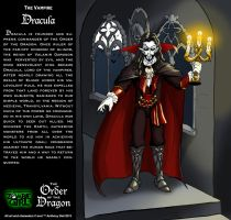 Order of the Dragon 01- The Vampire: Dracula by Gummibearboy