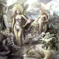 angels and demons by Flockhart