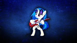 Vinyl Scratch Wallpaper by Amoagtasaloquendo