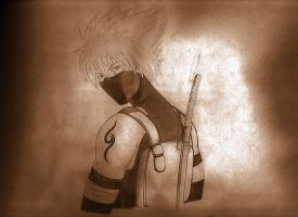 Young Anbu Kakashi by Akujo-Cat