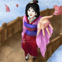 Mulan - Reflection by AnneClaude
