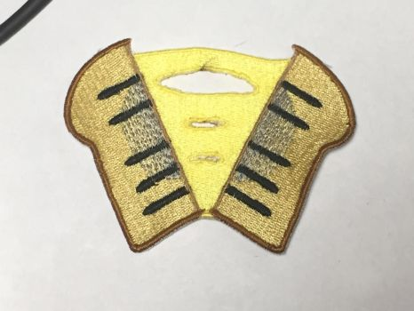 Cheese Sandwich embroidered cutie mark Patch by ScrwLoose