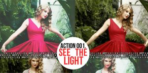 Action 001, See The Light. by feelinglikedancing
