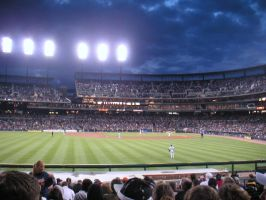 Tigers Game by kellelilly