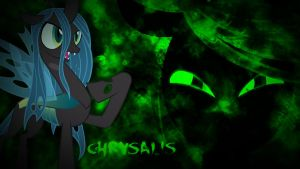 Queen Chrysalis Wallpaper by Kigaroth