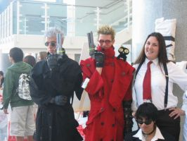 Trigun Cosplayers by Knightfourteen