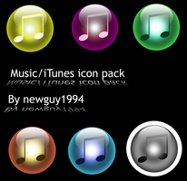 iTunes icon pack by JLindseyB