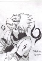 Kakashi Ambu Black Ops by Johnx13