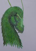 Green dragon from Inheritance by T-Arya