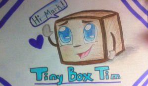 Tiny Box Tim by FrostedKat