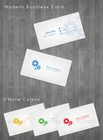 Modern Business Cards by flash-infinity