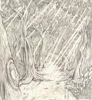 The Disappearing Woods by Zornsama