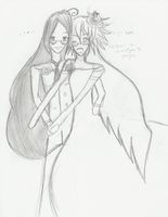 Grell x Rip - Dressing Up 01 by choxie-chan