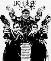The Boondock Saints Fan Art by TimDrakeRobin